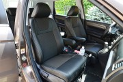 Фото 3 - Чехлы MW Brothers Honda CR-V III (2006-2012), серая нить