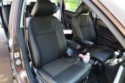 Фото 8 - Чехлы MW Brothers Honda CR-V III (2006-2012), серая нить