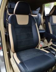 MW Brothers Honda CR-V III (2006-2012), бежевые вставки + бежевая нить