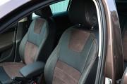 Фото 4 - Чехлы MW Brothers Skoda Octavia A7 Combi (2013-2020), коричневая алькантара + коричневая нить