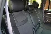 Фото 4 - Чехлы MW Brothers Lexus GX 470 (2003-2009), серая нить