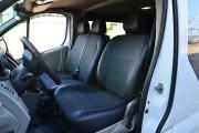 Фото 6 - Чехлы MW Brothers Opel Vivaro I (2001-2014) грузовой (1+2), серая нить