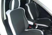 Фото 6 - Чехлы MW Brothers Peugeot 4007 (2007-2012), светлые вставки + серая нить