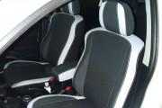 Фото 7 - Чехлы MW Brothers Peugeot 4007 (2007-2012), светлые вставки + серая нить