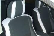Фото 8 - Чехлы MW Brothers Peugeot 4007 (2007-2012), светлые вставки + серая нить
