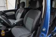 Фото 2 - Чехлы MW Brothers Mercedes-Benz Citan Kombi (W415) (2012-н.д.), серая нить