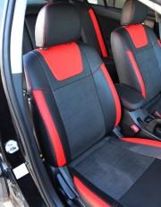MW Brothers Mitsubishi Lancer X 2L (2007-2011), красные вставки
