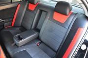 Фото 4 - Чехлы MW Brothers Mitsubishi Lancer X 2L (2007-2011), красные вставки