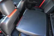 Фото 5 - Чехлы MW Brothers Mitsubishi Lancer X 2L (2007-2011), красные вставки