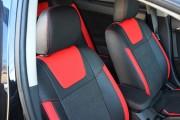Фото 6 - Чехлы MW Brothers Mitsubishi Lancer X 2L (2007-2011), красные вставки