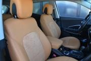 Фото 5 - Чехлы MW Brothers Hyundai Santa FE III (2012-2018), полностью рыжие
