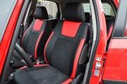 Фото 2 - Чехлы MW Brothers Suzuki SX4 I (2006-2014), красные вставки