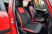 Фото 7 - Чехлы MW Brothers Suzuki SX4 I (2006-2014), красные вставки