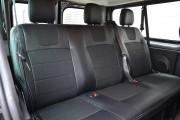 Фото 8 - Чехлы MW Brothers Opel Vivaro II (2014-н.д.) пассажир, серая нить