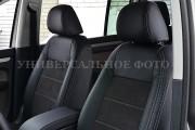 Фото 3 - Чехлы MW Brothers Opel Vivaro II (2014-н.д.) пассажир, серая нить