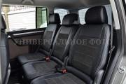 Фото 4 - Чехлы MW Brothers Opel Vivaro II (2014-н.д.) пассажир, серая нить