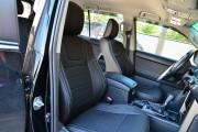 фото 2 - Чехлы MW Brothers Toyota Land Cruiser Prado 150 (2017-н.д.), серая нить