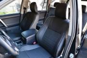 фото 3 - Чехлы MW Brothers Toyota Land Cruiser Prado 150 (2017-н.д.), серая нить