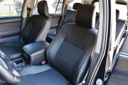 фото 5 - Чехлы MW Brothers Toyota Land Cruiser Prado 150 (2017-н.д.), серая нить