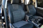 Фото 8 - Чехлы MW Brothers Toyota Land Cruiser Prado 150 (2017-н.д.), серая нить