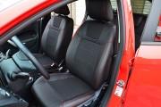 Фото 3 - Чехлы MW Brothers Ford Fiesta Mk7 (2009-2018), красная нить