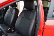 Фото 4 - Чехлы MW Brothers Ford Fiesta Mk7 (2009-2018), красная нить