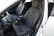 """'ото 4 - """"ехлы MW Brothers Renault Megane III Grandtour (универсал) (2008-2016), сера¤ нить"""