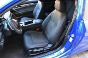 фото 4 - Чехлы MW Brothers Honda Civic 10 (2016-н.д.), серая нить