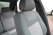 Фото 3 - Чехлы MW Brothers Chevrolet Lacetti Hatchback (Wagon) (2002-н.д.), полностью светлые + серая нить