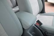 Фото 4 - Чехлы MW Brothers Chevrolet Lacetti Hatchback (Wagon) (2002-н.д.), полностью светлые + серая нить