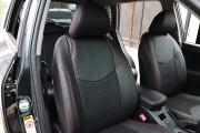 Фото 6 - Чехлы MW Brothers Toyota RAV4 III (2005-2013), красная нить