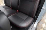 Фото 5 - Чехлы MW Brothers Toyota Tacoma III Double Cab (2015-н.д.), красная нить
