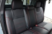 Фото 6 - Чехлы MW Brothers Toyota Tacoma III Double Cab (2015-н.д.), красная нить