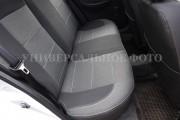 фото 2 - Чехлы MW Brothers Hyundai Accent IV (Solaris) sedan (2011-2017), серая нить