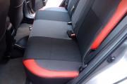 Фото 3 - Чехлы MW Brothers Toyota Auris II (2012-н.д.), красные вставки