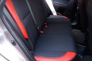 Фото 6 - Чехлы MW Brothers Toyota Auris II (2012-н.д.), красные вставки