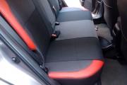 Фото 3 - Чехлы MW Brothers Toyota Auris II Touring Sports (2012-н.д.), красные вставки
