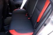 Фото 6 - Чехлы MW Brothers Toyota Auris II Touring Sports (2012-н.д.), красные вставки