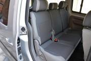 Фото 2 - Чехлы MW Brothers Volkswagen Caddy III (2004-2015), светлая эко-кожа+темно-серая ткань