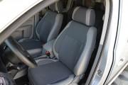 Фото 4 - Чехлы MW Brothers Volkswagen Caddy III (2004-2015), светлая эко-кожа+темно-серая ткань