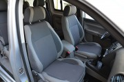 Фото 8 - Чехлы MW Brothers Volkswagen Caddy III (2004-2015), светлая эко-кожа+темно-серая ткань
