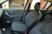 Фото 4 - Чехлы MW Brothers Renault Logan II (2012-2014), красная нить