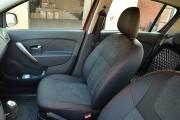 Фото 4 - Чехлы MW Brothers Renault Logan II MCV (2012-2014), красная нить