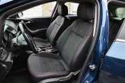 Фото 2 - Чехлы MW Brothers Opel Astra J (2009-2015), красная нить