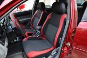 Фото 2 - Чехлы MW Brothers Chevrolet Lacetti (2002-н.д.), красные вставки + красная нить