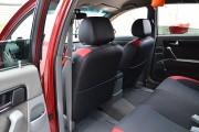 Фото 3 - Чехлы MW Brothers Chevrolet Lacetti (2002-н.д.), красные вставки + красная нить