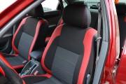 Фото 6 - Чехлы MW Brothers Chevrolet Lacetti (2002-н.д.), красные вставки + красная нить