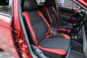 Фото 8 - Чехлы MW Brothers Chevrolet Lacetti (2002-н.д.), красные вставки + красная нить