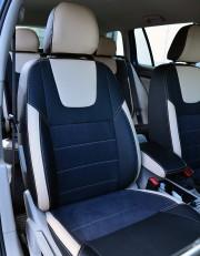 MW Brothers Volkswagen Golf VII Variant (2013-2020), бежевые вставки + бежевая нить