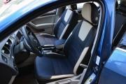 Фото 3 - Чехлы MW Brothers Volkswagen Golf VII Variant (2013-2020), бежевые вставки + бежевая нить